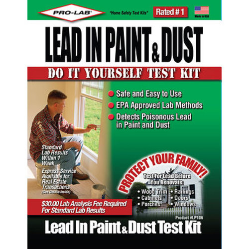 Pro-Lab Lead Paint & Dust Test Kit