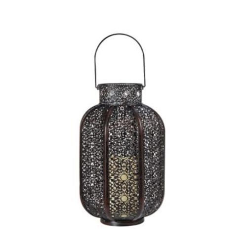 Smart Living Cadiz Lantern w/ LED Candle