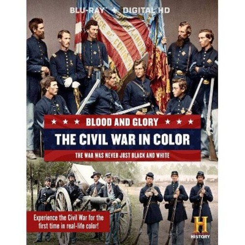 Blood and Glory: The Civil War in Color [Blu-ray] [2 Discs]