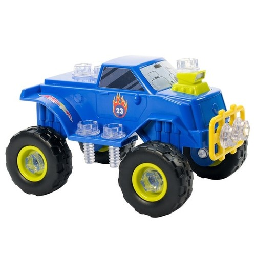 Educational Insights Design and Drill Power Play Monster Truck - Design N Drill Power Play Vehicle, Monster Truck