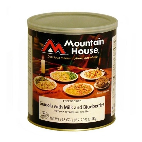 Mountain House 30449 Granola with Blueberries #10 Can