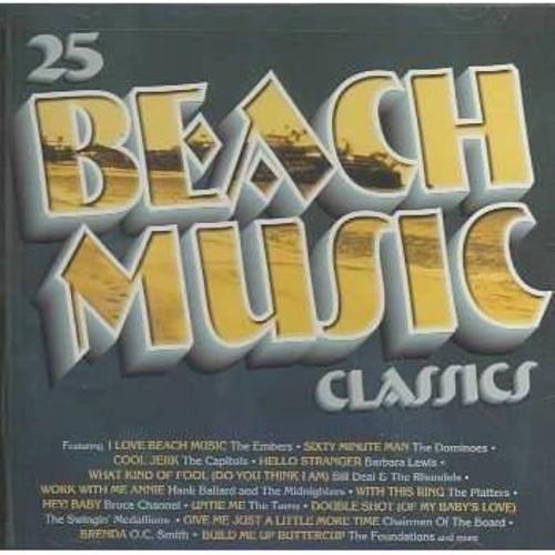 Various - 25 beach music classics (CD)