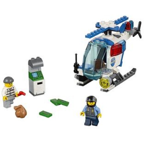 LEGO Juniors Police Helicopter Chase Figures LEGO Easy Build Mini City Action Emergency 10720