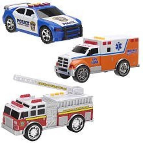 Fast Lane Emergency Vehicle 3-in-1 Set