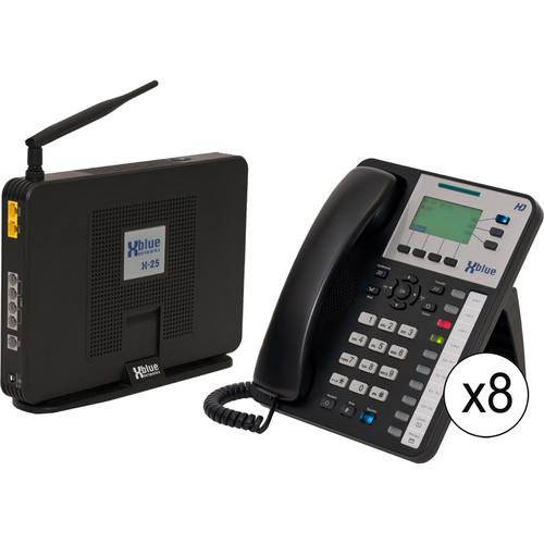 X-25 System Bundle with Nine X3030 VoIP Phones