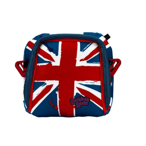 BubbleBum Travel Car Booster Seat - Union Jack