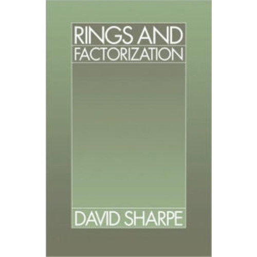 Rings and Factorization