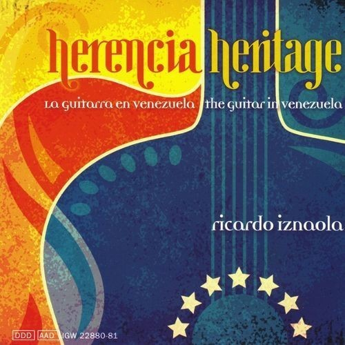 Heritage: Guitar in Venezuela [CD]