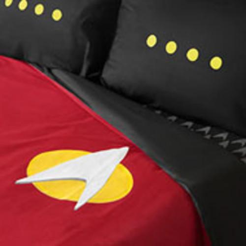 Star Trek TNG Uniform Bedding Set Sheets Queen