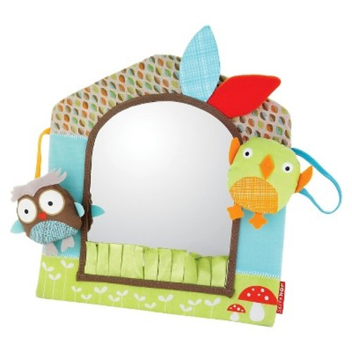 Skip Hop Treetop Friends Activity Mirror - Owl and Friend