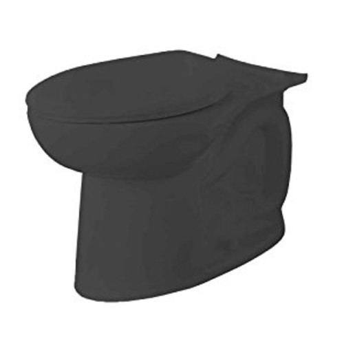 American Standard 3717C001.178 Cadet 3 FloWise Elongated Toilet Bowl Only in Black [Black]