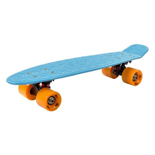 Flybar Inc. Skate 22 Inch Mini Plastic Cruiser Complete Skateboard