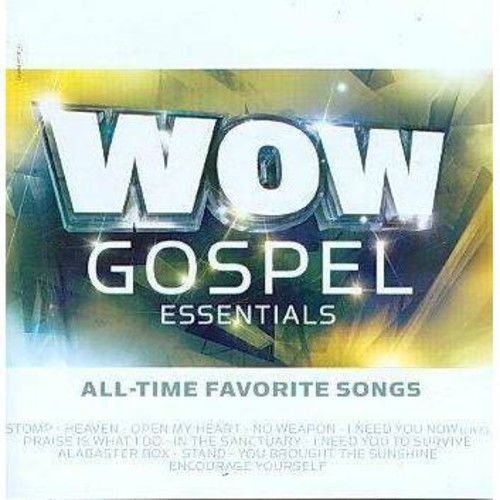 Wow Gospel Essentials All-Time Favorite Songs [CD]