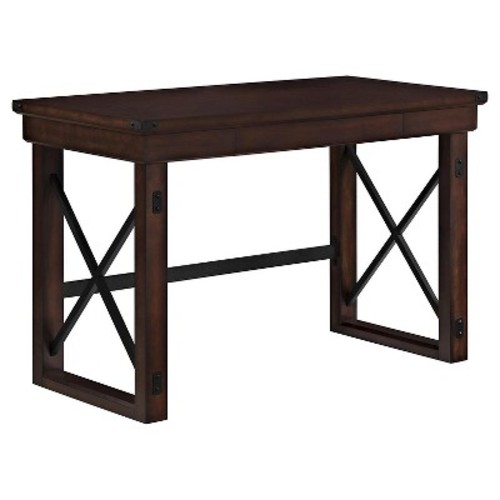 Altra Furniture Wildwood Mahogany Desk