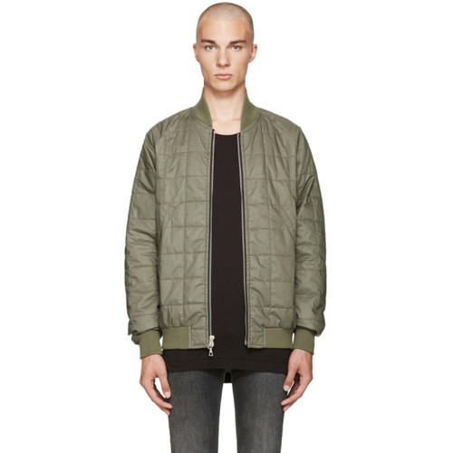 Green Quentin Flight Jacket
