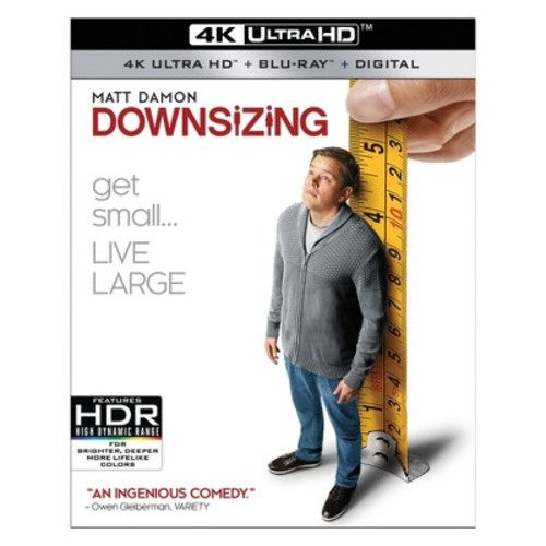 Downsizing (4K/UHD + Blu-ray + Digital)