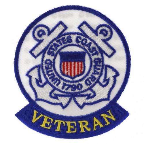 US Coast Guard Veteran Patch