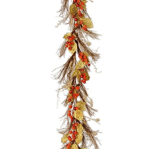 National Tree Co. Berry and Leaf Vine Garland