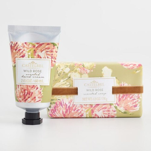 Castelbel Matisse Floral Wild Rose Bath and Body Collection