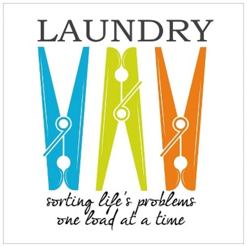 Laundry Sorting by Taylor Greene Unframed Wall Art Print