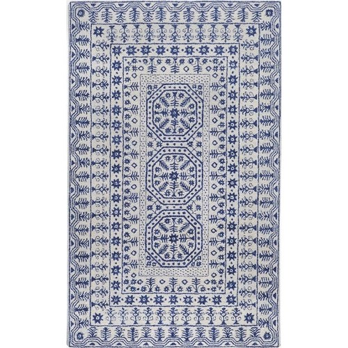 Surya Smithsonian Ivory Indoor Area Rug (Common: 8 x 11; Actual: 8-ft W x 11-ft L)