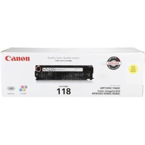 Canon 2659B001 118 Toner Cartridge, Yellow