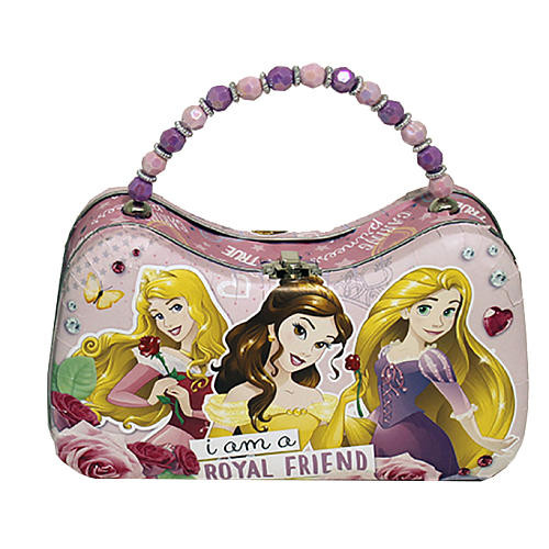 Disney Princess Tin Carry All - Sleeping Beauty, Belle, Rapunzel