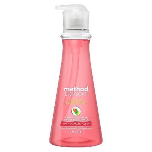 Method Pink Grapefruit Liquid Dish Soap - 18 fl oz