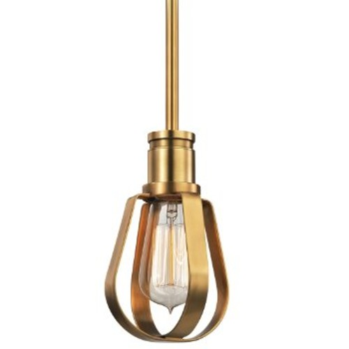 Hudson Valley Lighting Red Hook Mini Pendant [Finish : Aged Brass]