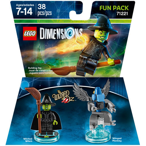 WB Games - LEGO Dimensions Fun Pack (The Wizard of Oz: Wicked Witch)