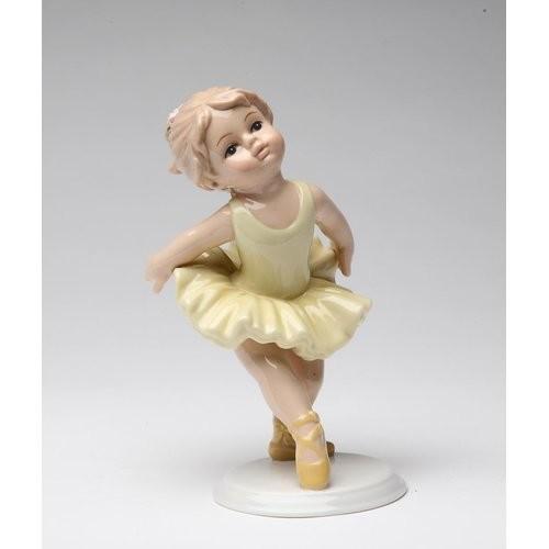 Ballerina Hands Back Figurine
