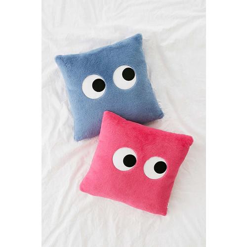 Googly Eyes Plush Throw Pillow
