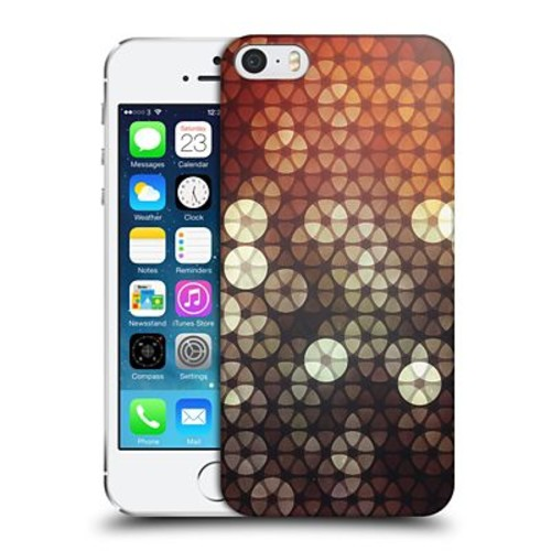 OFFICIAL SPIRES SHAPES Bokeh Tessellate Hard Back Case for Apple iPhone 5 / 5s / SE (9_D_1D978)