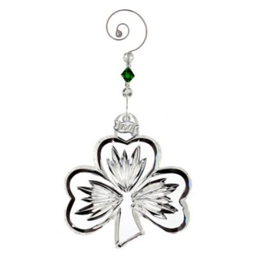 Waterford 2017 Annual Shamrock Christmas Ornament