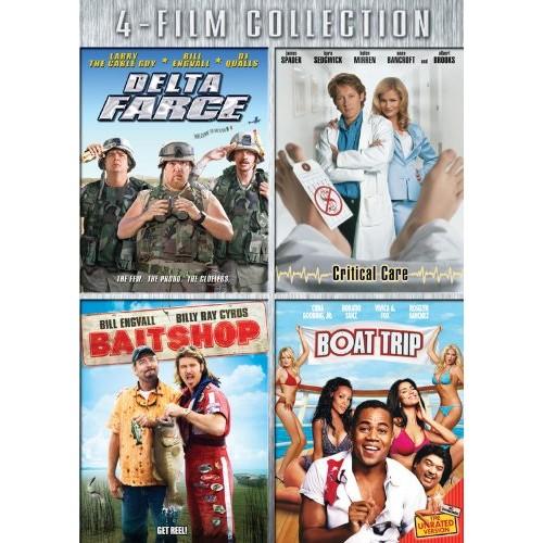 Four-Film Collection: (Delta Farce / Critical Care / Bait Shop / Boat Trip)