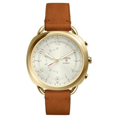Fossil Hybrid Smartwatch - Q Accomplice 40mm Luggage Leather