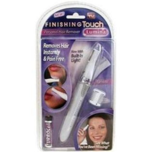 Finishing Touch Lumina built-in light personal hair remover Kit - 3 ea