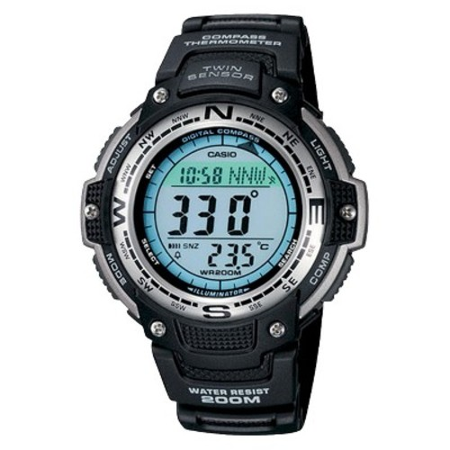 Men's Casio Digital Compass Twin Sensor Sport Watch - Black (SGW100-1V)