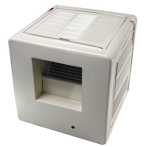 4800 cfm Belt-Drive Ducted Evaporative Cooler with Motor, Covers 1000 to 1400 sq. ft.