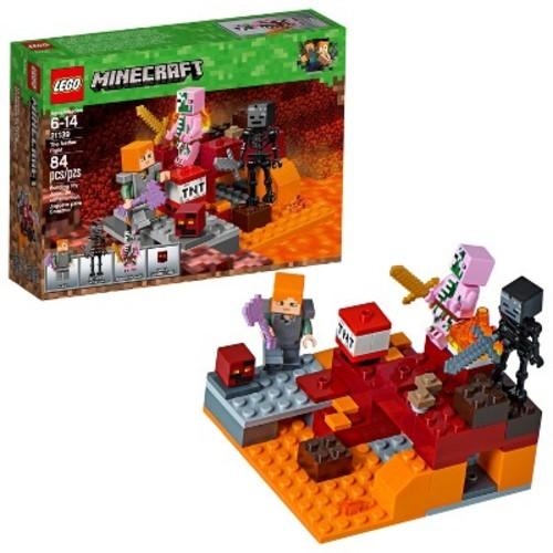 LEGO Minecraft The Nether Fight 21139
