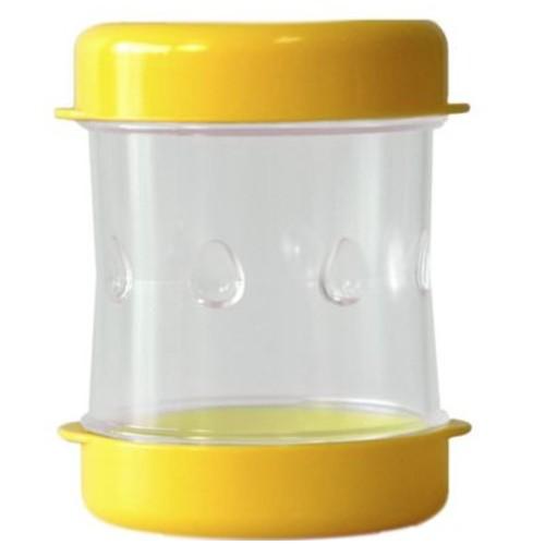 NEGG Boiled Egg Peeler; Yellow