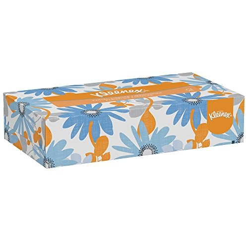 Kimberly-Clark Kleenex 03076 Facial Tissue Convenience Pack 8-25/64