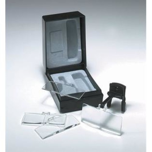 DAYLIGHT UN91171 Clip-on Spectacle Magnifiers, Black