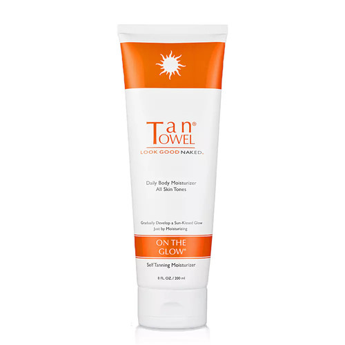 TanTowel On The Glow Self-Tanning Daily Body Moisturizer