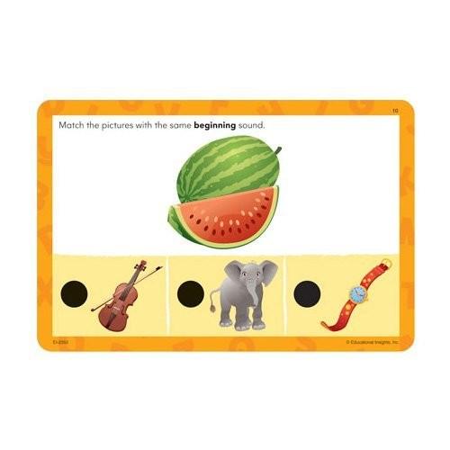 Educational Insights Hot Dots Jr. Beginning Phonics Card Set [Each]