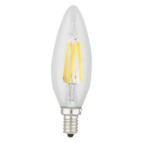 Kodak 40W Equivalent 2,700K Candle Torpedo Dimmable LED Light Bulb