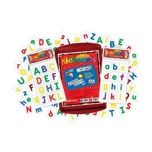 Barker Creek Magnets, Learning Magnets, Alphabet Activity Kit, Grades Pre-K2, Pack Of 77