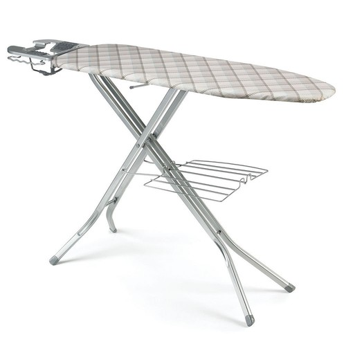 Polder IB-4817BBB Deluxe Ironing Station with Iron Holster, 48-Inch