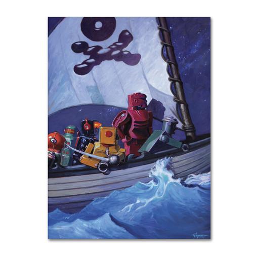 Trademark Global Eric Joyner 'Raiders' Canvas Art