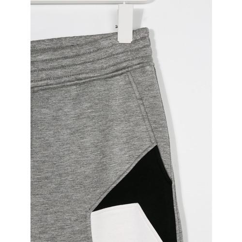 geometric track trousers